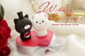 cat wedding cake topper wedding cake topper cat www etsy listing 61291886 flickr