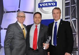 volvo trucks north america nacarato wins top volvo dealer award