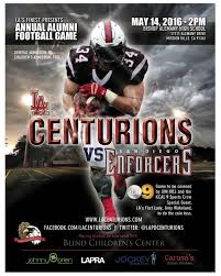 The Blind Lady San Diego Make Sure You Make It To The Lapd Centurions Football Game Against