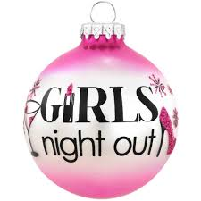 girls night out glass ornament special occasion bronner u0027s