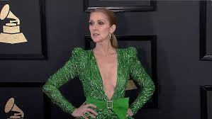celine dion wows in zuhair murad gown for grammy awards daily
