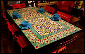 Mexican Patio Decor Furthur Wholesale Mosaic Dining Tables