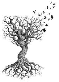 forearm black tree idea