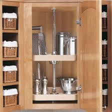 Lazy Susans For Upper And Wall Cabinets KitchenSourcecom - Corner cabinet for rv