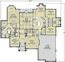 large home floor plans plan 29831rl traditional style ranch ranch house plans ranch