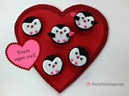 valentines day cookies penguin oreo cookies tutorial recipe food craft for kids