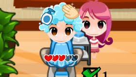 jeux de coiffure et de cuisine jeu travailler à la cantine gratuit jeux 2 filles