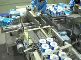 wrapped toilet paper toilet paper wrapping machine with log saw an d rewinder line