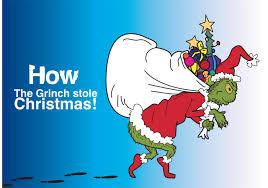 grinch stole christmas tree christmas lights decoration