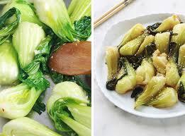 cuisiner le chou chinois cuit bok choy sautés recette facile rapide cuisine culinaire