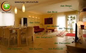 Wohnzimmer Gender German Vocabulary The Living Room Easydeutsch
