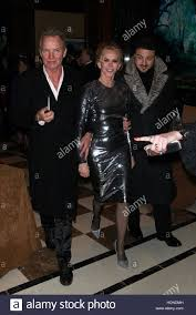 new york ny usa 14th dec 2016 sting trudie styler and
