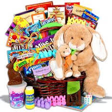 easter gift baskets of appreciation gift baskets easter bunny chocolate and candy