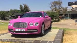 bentley car pink lamborghini and bentley go pink for breast cancer awareness month