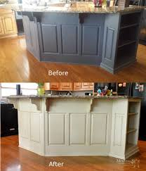 resurface kitchen cabinets before and after cabinet refinishing before and after