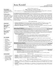Resume For Mechanical Fresher Guidelines For E Resume Senior Thesis Topic Civil Engineer Job