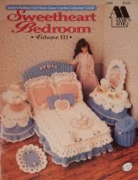 sweetheart bedroom vol 3 crochet pattern for 11 5 inch doll