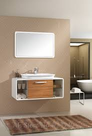 Oak Bathroom Furniture Online Get Cheap Wood Bathroom Cabinets Aliexpress Com Alibaba