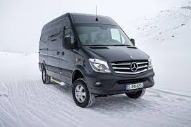 lexus commercial jeep 2015 mercedes benz sprinter 4x4 confirmed for u s market