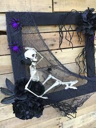 Halloween Skeleton Decorations by Wreaths Door Wreaths Front Door Wreaths Halloween Wreaths