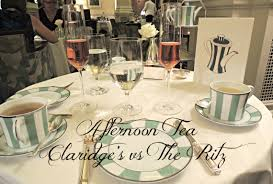 afternoon tea claridge u0027s vs the ritz