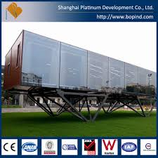 full finished container home glass effect buy container home