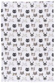 Kay Dee Designs Kitchen Towels Now Designs Cat U0027s Meow Dish Towel Everything Kitchens