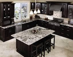 dark wood kitchen island kitchen modern style dark kitchen design with neat metal wall