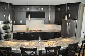 luxurious contemporary kitchen design showcasing large cleanly