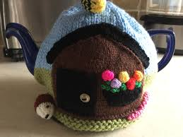 knitted allotment tea cosy garden lovers gift new home