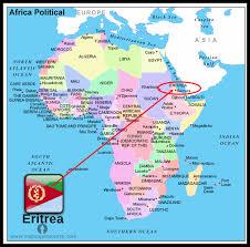 africa map eritrea pebbles for eritrea 185 christians arrested at prayer
