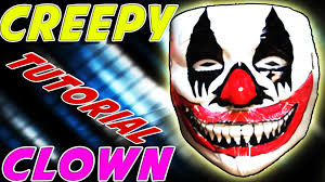 scary clown halloween mask how to make a diy scary clown mask for halloween cheap and easy