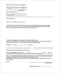 sample quit claim deed 10 examples in pdf word