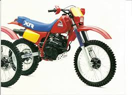 honda xr original xr tests and honda brochure