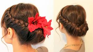 do do holiday updo braided hairstyles for medium long hairs