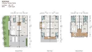 Hdb Floor Plans Sunway Cassia Terrace Malaysia Properties Sunway Property