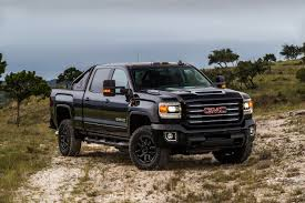 lifted gmc 2017 gmc unveils 2017 sierra hd all terrain x its most powerful off