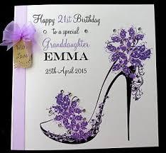 large personalised birthday card sister granddaughter niece auntie
