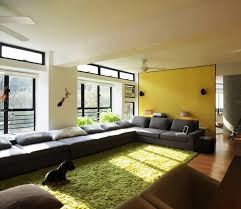 Yellow Sectional Sofa Long Sectional Sofa Design For Luxurious Interior Look Homesfeed