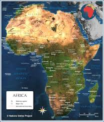 africa map review africa the lone unknown continent the chele b review