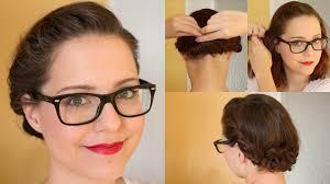 Hochsteckfrisuren Mittellange Haar Einfach by Hochsteckfrisur Für Kurze Haare