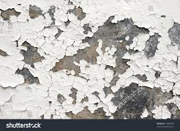 Textured Paint For Exterior Concrete Walls - white paint on exterior wall cracked stock photo 41880949