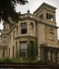 abandoned spaces overgrown and falling apart the 114 room 19th century mansion