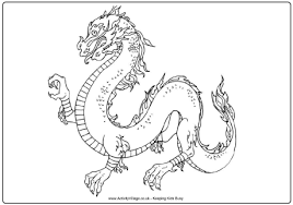 dragon colouring 2