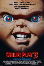 halloween horror nights chucky funhouse child u0027s play 3 look who u0027s stalking 1991 movie posters