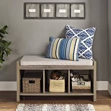 Entryway Cubbies Altra Furniture Penelope Espresso Storage Bench Pictures On