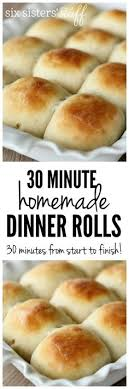 1 hour dinner rolls recipe thanksgiving and much
