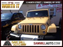 is a jeep wrangler worth it 2014 used jeep wrangler unlimited damage at saw mill auto