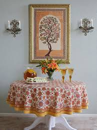 indian table cloths round indian tablecloth 90 round tablecloths