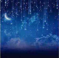 blue backdrop 10x10ft blue sky moon starry custom photo studio